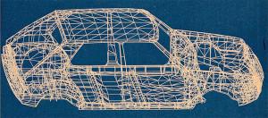 Modello matematico Fiat X1/38 - Fiat Ritmo