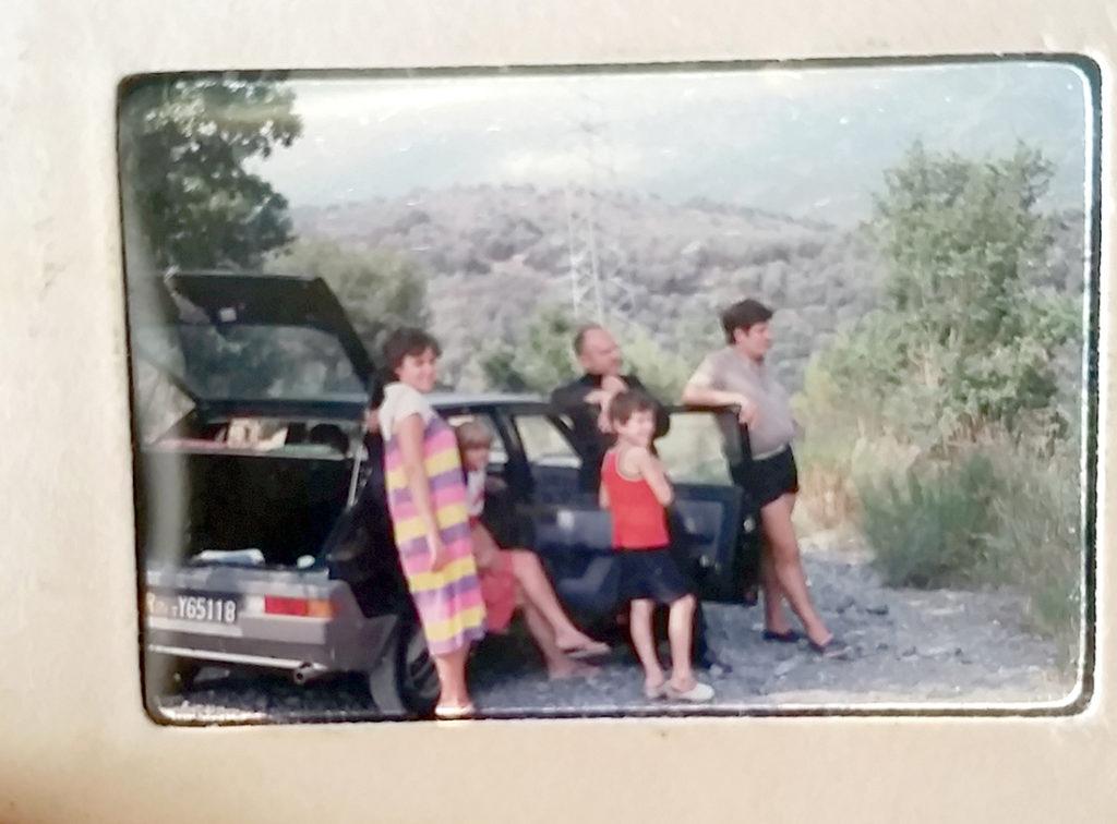 Diapositiva Fiat Ritmo 1984